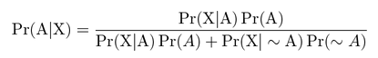 Bayes Theorem Formula